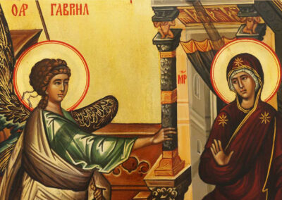 The Annunciation of Christ  the incarnate Word of God